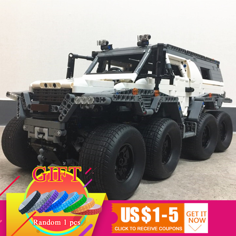 23011 2959pcs Technical Series Off-road vehicle set Model Building kits Block Compatible with 5360 Toys lepin lepin 23011 2959pcs technic series off road vehicle compatible with moc 5360 model building sets blocks bricks educational toys