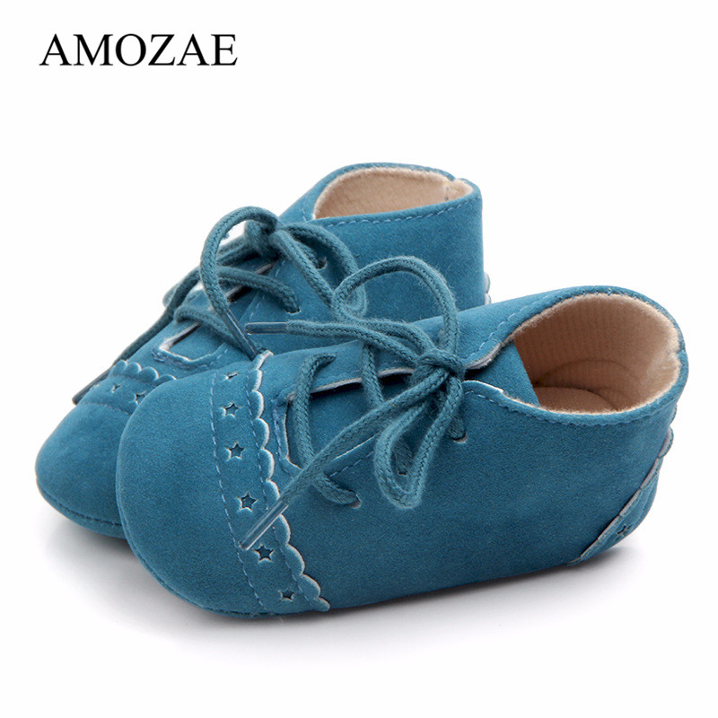 Newborn Baby Shoes Nubuck Leather First Walker Baby Girl Boy Soft Soles Prewalker Footwear Kids Shoes Casual Toddler Shoes