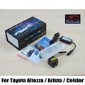 Safety Laser Fog Lights / For Toyota Altezza / Aristo / Celsior / 12V Car Anti-Rear Fog Lamp / Vehicle Collision Warning Light