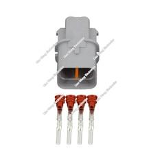 цена на 10 PCS 4 pin Automotive harness connector Waterproof connector  plug socket connector DJ7043B-2.2-11 with Terminals