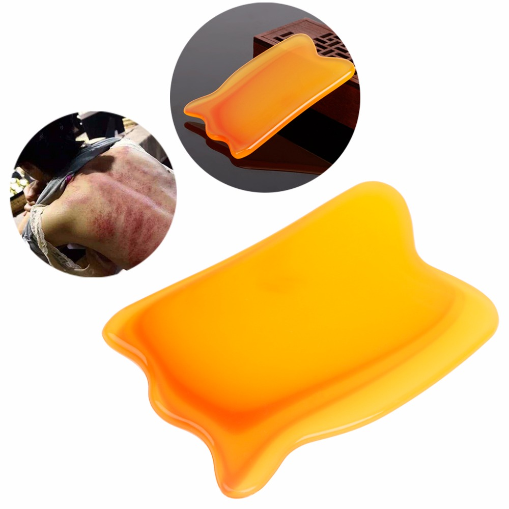Non-irritant Resin Beauty Best Gua Sha Scraping Massage Tool