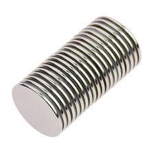 Hot  Magnet N52 Strong Permanent Neodymium Rare Earth Ndfeb Round Thin Magnets Disc For Craft, Science And Diy 1.26inch Dia 200 3000pcs n42 thin disc dia 8x1 5 mm 8x1 mm ndfeb magnet strong neodymium sensor rare earth magnets permanent lab magnets