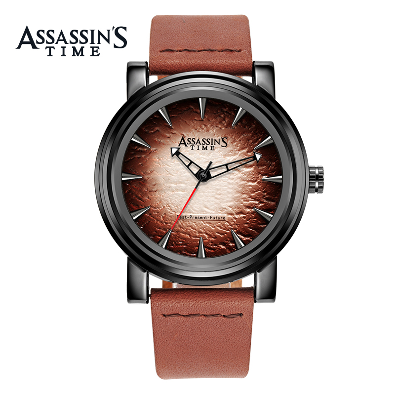 Assassin's Time Fashion Sport Horloge Heren quartz horloge Luxe zwart - Herenhorloges