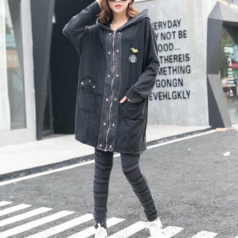 Casaco Di Rock Vestiti Feminina Abbigliamento Cappotto Punk Plus Delle Dimensioni Trincea Feminino Rivet Jaqueta Grandi Moda Size Femminile Donne 57q8qa