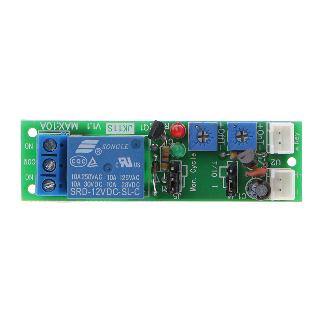 Dc12v 0 120min Infinite Cycle Delay On Off Timing Timer Relay Switch Circuit Loop Module In Breakers From Home Improvement Alibaba Group