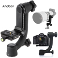 Gimbal Tripod Head Panorama 360 Camera Head Bird-Swing With Quick Release Plate for Telephoto Lenses Canon Nikon Sony Camera