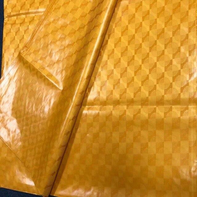 10 yard/set tessuto africano oro bazin riche getzner atiku tessuto per gli uomini bacino riche getzner broccato jacquard fabricL1402-2