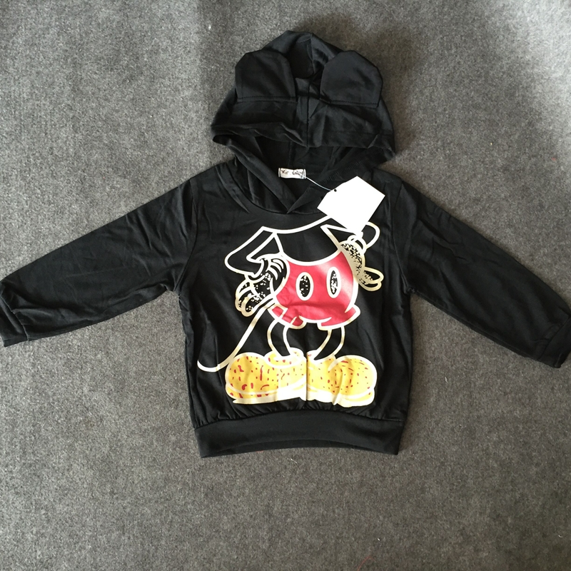 Spring Summer Children s Sweatshirts Cotton Cartoon Printed Boys Girls font b Hoodies b font 2