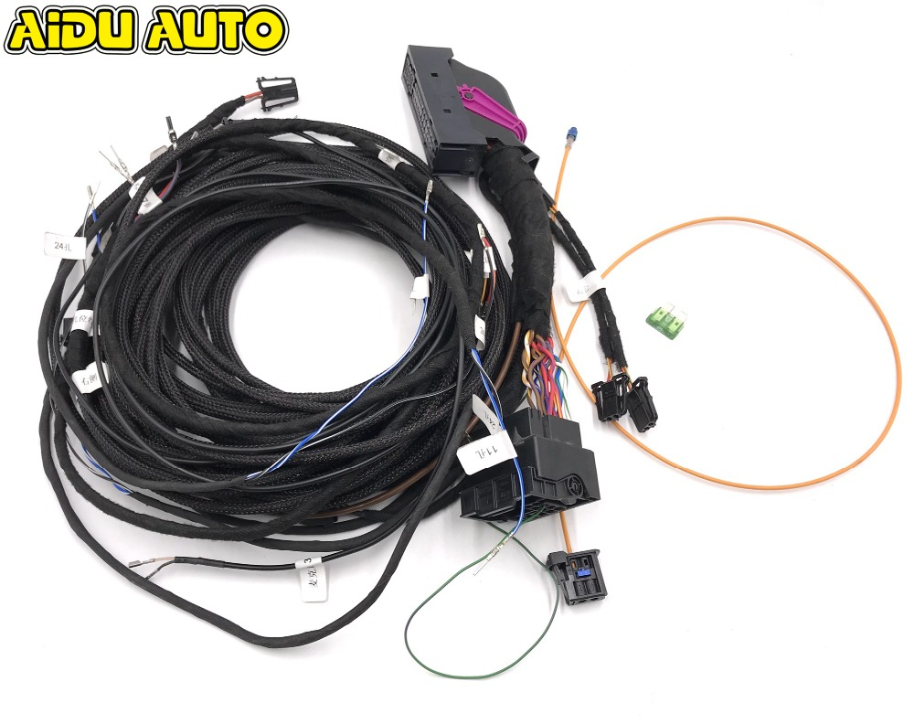 Aliexpress.com : Buy Upgrade Adapter Cable Wiring Harness Cable USE FIT For  Audi A3 A4 A5 A6 A7 A8 Pa Bang & Olufsen Audio Speakers Media B&O System  from ...