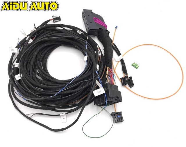 Awe Inspiring Upgrade Adapter Cable Wiring Harness Cable Use Fit For Audi A3 A4 A5 Wiring 101 Mentrastrewellnesstrialsorg