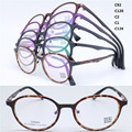 Wholesale 8604 new style round shape full-rim with silicone nose pad ultra lightweight ULTEM optical frames free shipping