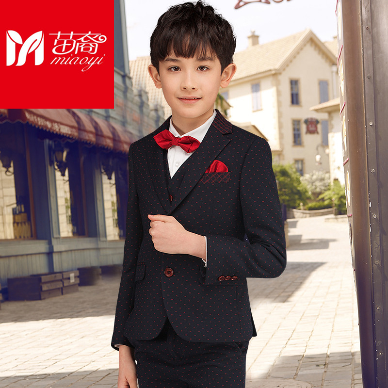 4 to15years old new 2017 autumn boys high quality gentlemen blazer clothing sets  boys full dress clothes set boys dress suit high quality new full set replacement