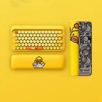 Xiaomi youpin Bluetooth клавиатура 79 ключ светодиодная подсветка USB порты Клавиатура для ноутбука Настольные планшеты ПК игровая клавиатура