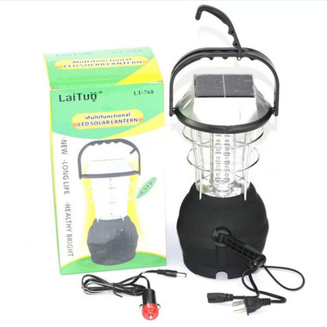 Portable led solar camping light lampara led camping recargable portable led solar camping light lampara led camping recargable household lantern emergency outdoor lighting aloadofball Choice Image
