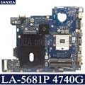 KEFU LA-5681P carte mère d'ordinateur portable pour Acer 4740G carte mère d'origine HM55