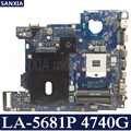 Kefu LA-5681P 노트북 마더 보드 acer 4740g 오리지널 메인 보드 hm55 용
