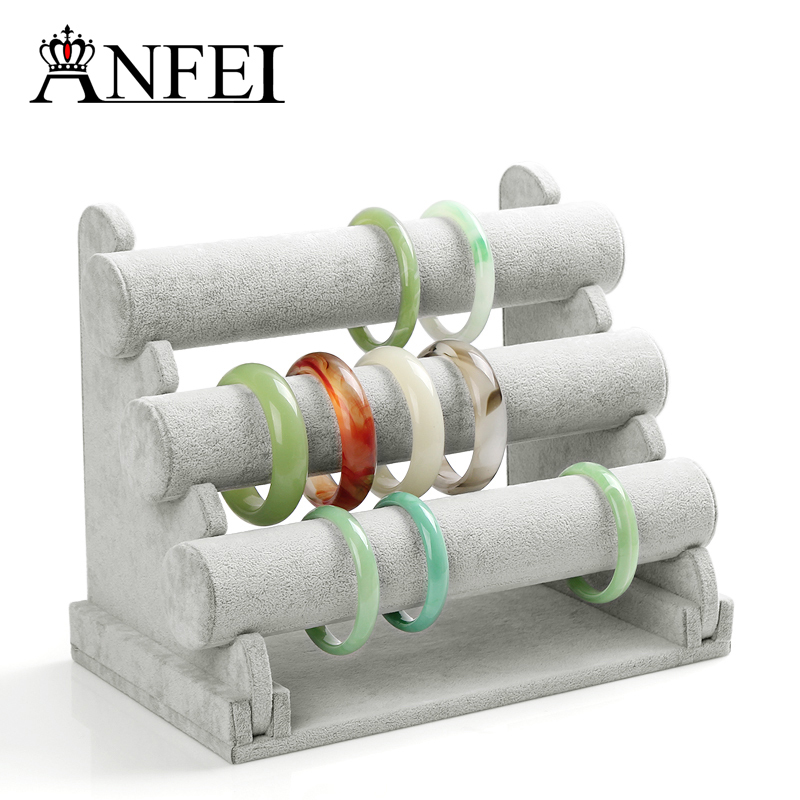 ANFEI Jewelry Display Shelf Necklace Holder Display Jewelry Stand For Decoration Stand Shoes Bracelet Display Shelf Rack