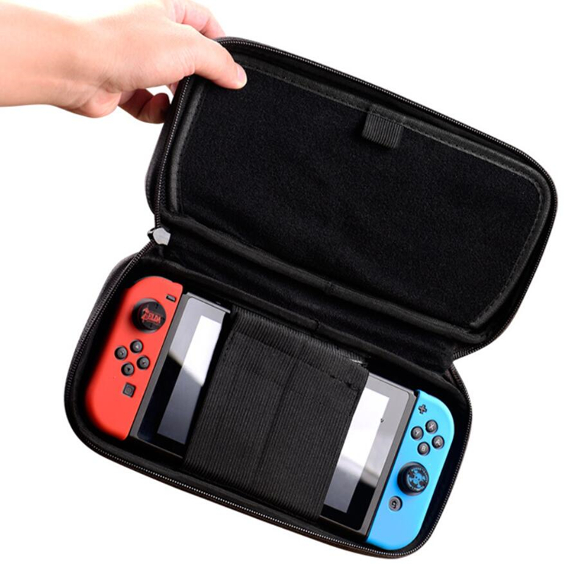 The Legend of Zelda Sheikah Slate Storage Bag For Switch Console Travel Carry Cover Protector Case Bags NS  3