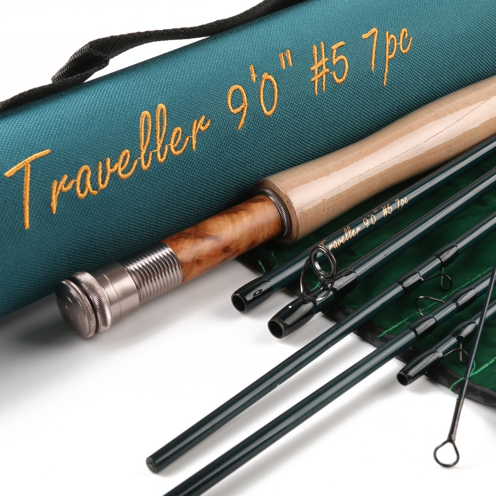 Maximumcatch carbon fiber fly rod and fly reel combo for Fly fishing rods