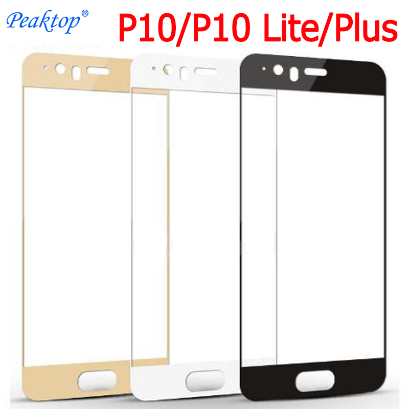 2pcs For Huawei P10 P 10  Plus P10 Lite Light Screen Protector Tempered Glass Premium Tremp Glas P10Lite Cover Protective Film
