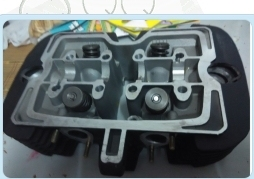 Motorcycle Accessories Motorcycle CA250 DD250 250-3 250 twin cylinder head cylinder head