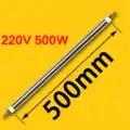 500 MM dia 16 MM 220 V 500 W tube droit séchage à l'air chauffage tube droit four de chauffage électrique tube de chauffage tige de chauffage