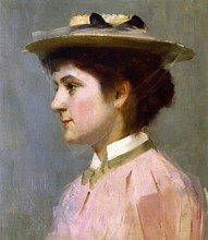 Unframed Canvas Prints - Miss Isobel Mcdonald - By Tom Roberts