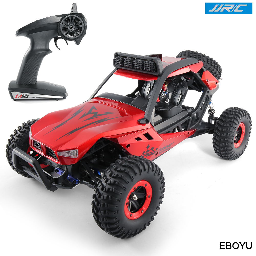 JJRC Q46 RC Car Rock Off-Road Racing Vehicle RC Crawler Truck 2.4Ghz 4WD High Speed 1:12 Radio Remote Control Buggy Xmas Gift new 7 2v 16v 320a high voltage esc brushed speed controller rc car truck buggy boat hot selling