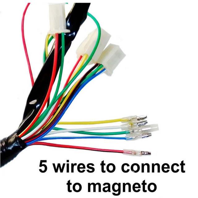 lei quad bike wiring diagram transformer and how it works schema online shop full electrics harness cdi coil 110cc 125cc atv yamaha