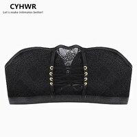 CYHWR Women Crop Top Bras Wirefree Padded Push Up Bra One Piece Seamless Bra Women Sexy