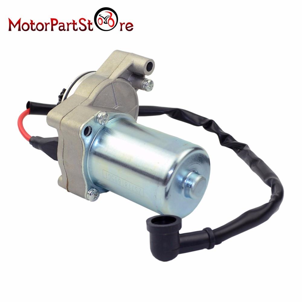New Electric Starter Motor for 50 70 90 110cc Upper Engine ATV 3 Bolt