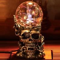 Supernatural Strange New Photoelectric Light Emitting Tatic Plasma Touch Smagic Ball Electronic Magic Ball Gifts