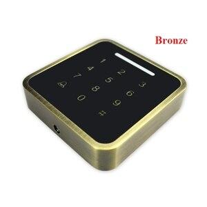 Image 4 - 13.56mhz /125KHzMetal Rfid Tastiera di Controllo di Accesso di Supporto 3000 Utenti ID Card Reader Elettrico Digitale Password Serratura Della Porta