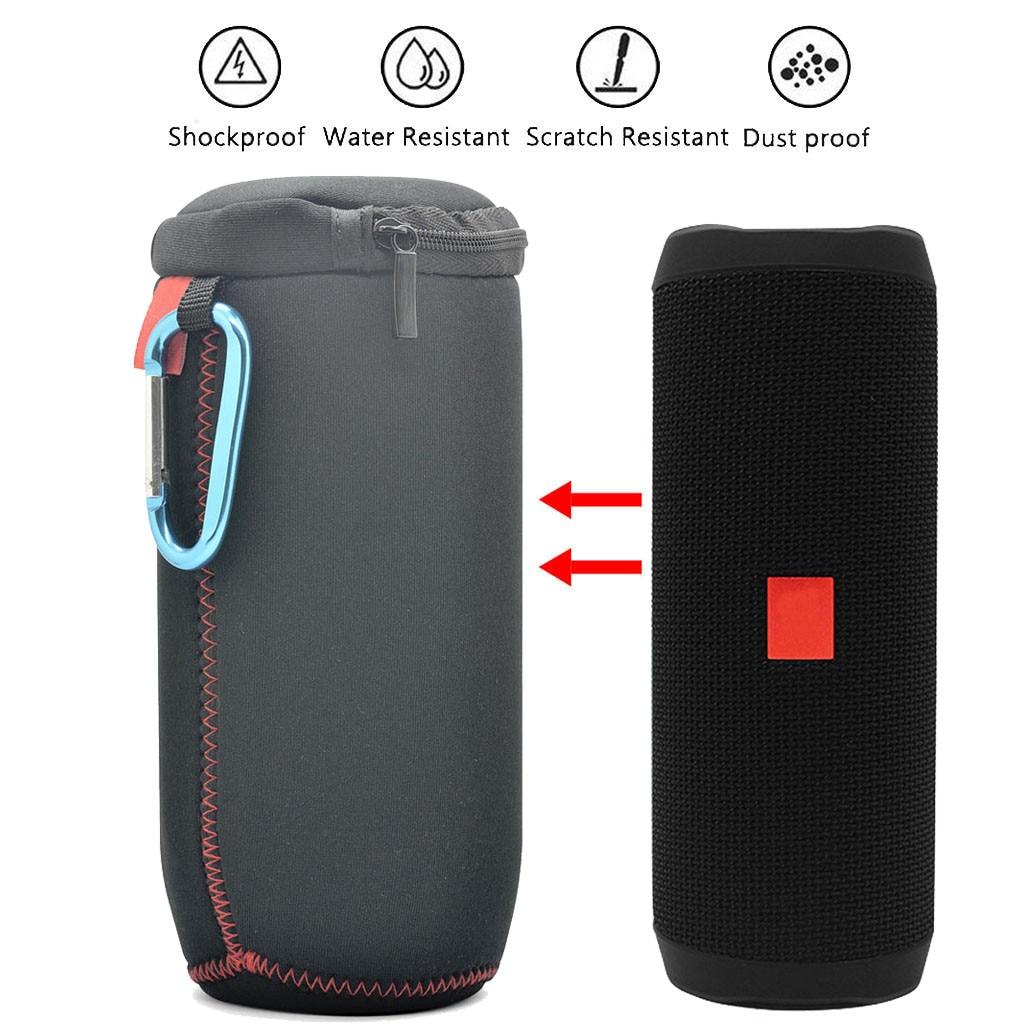 jbl flip 4 Soft Portable Case Waterproof Portable Bluetooth Speaker jbl flip 4 Case Travel Protective Pouch Bag Extra Space gadget