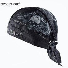 Motorcycle Face Mask Men Summer Motorcycle Skull Caps Helmet Balaclava Headwrap Bandana Face Shield Headband Running Cycling Hat