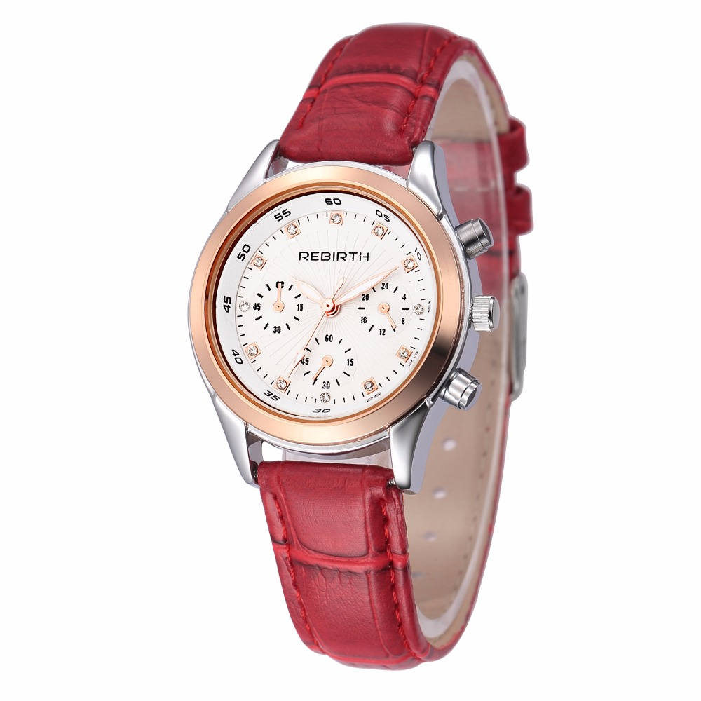 Rebirth watch Fashion Casual Luxury brand crystal simple design bracelet watches business Genuine Leather strap student clock new chaos abstract design simple watches for young people rebirth fashion brand quartz watch with comfortable leather strap