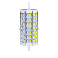 1X R7S Led 9 W SMD5050 118mm 42 LEDS Ampul Işık Lambası AC85-265V Halojen Işıklandırmalı Yerine