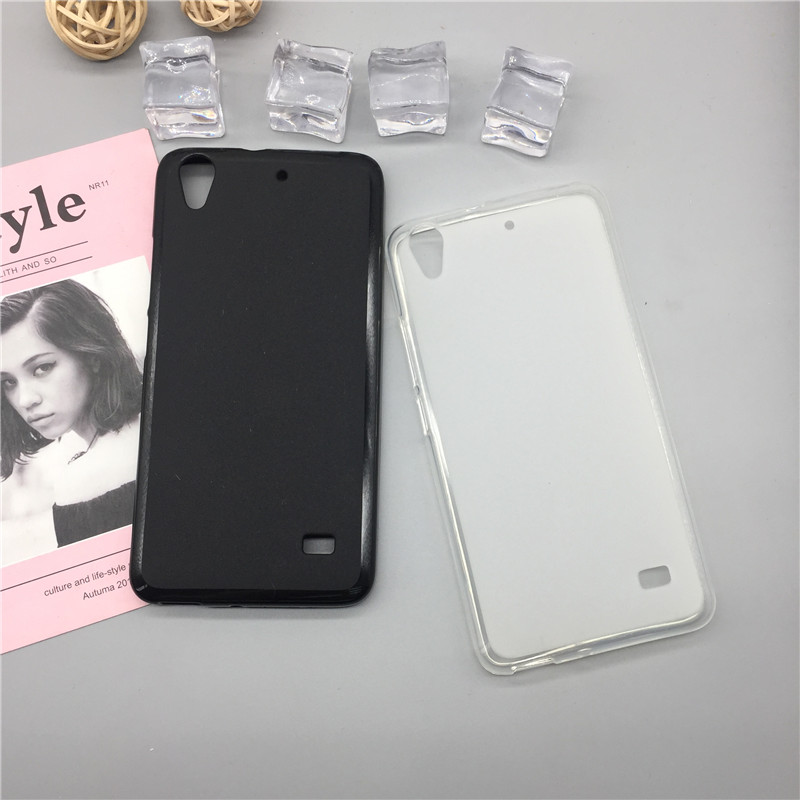 Case Soft Silicon Phone Para for <font><b>Huawei</b></font> Honor Play 4 / Ascend <font><b>G620s</b></font> G621 C8817E C8817D Luxury TPU Cover Shell Black Cases image