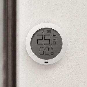 Image 2 - Orijinal Xiao mi LCD ekran dijital termometre mi jia Bluetooth sıcaklık akıllı Hu mi kir hu mi kir sensörü mi ev uygulaması