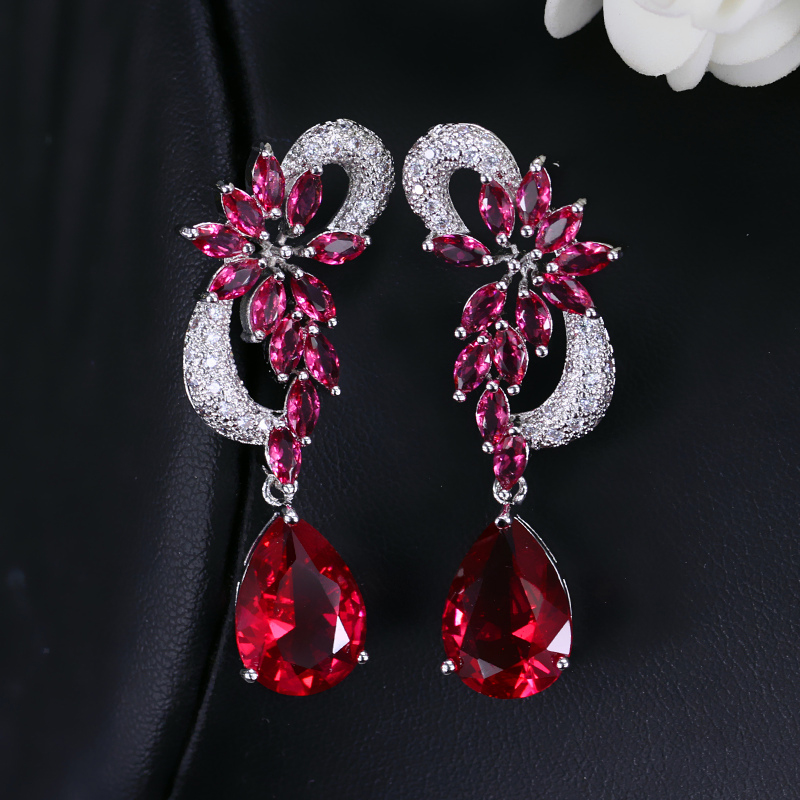 Bridal Long Earrings3