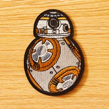 DIY Star Wars Patch Tactical Military Badges Iron on Patches For Clothing Embroidered Applique On Clothes Stickers