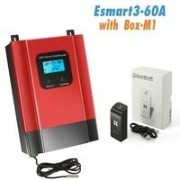 ESmart 3 Solar Charge Controller 40A 60A 48V 36V 24V 12V Auto Backlight LCD Max 150VDC Input Energy Saving RS485 Port
