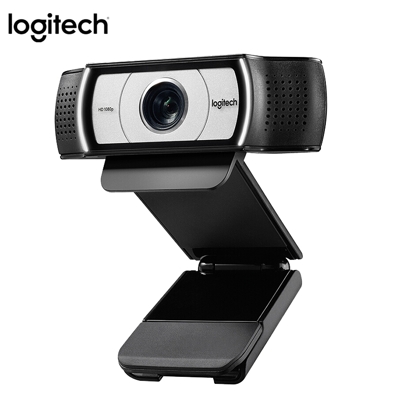 Original Logitech C930E 1920 1080 HD Garle Zeiss Lens Certification Webcam with 4Time Digital Zoom Support