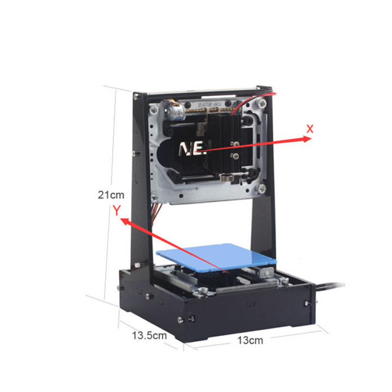 NEJE 500MW DK-6 Pro-5 Engraver Cutter Laser Printer USB DIY Engraving Cutting Machine neje dk 5 pro 500mw high power violet light laser head diy laser machine parts laser diode laser tube for engraver