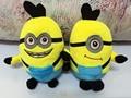 despicable me 3D eyes plush Toy 23cm minions stuffed dolls jorge stewart dave minion plush toys hot sale