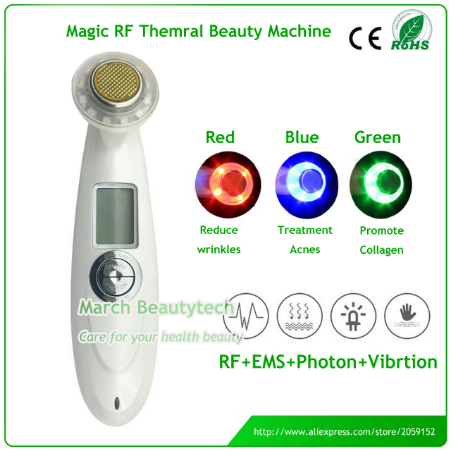Hydro Radio Frequency Face Lifting Red Green Blue Light Vibrating Massager Papier Poudre Oil Blotting Papers - Dark Rachel 1 Box (12 Booklets)