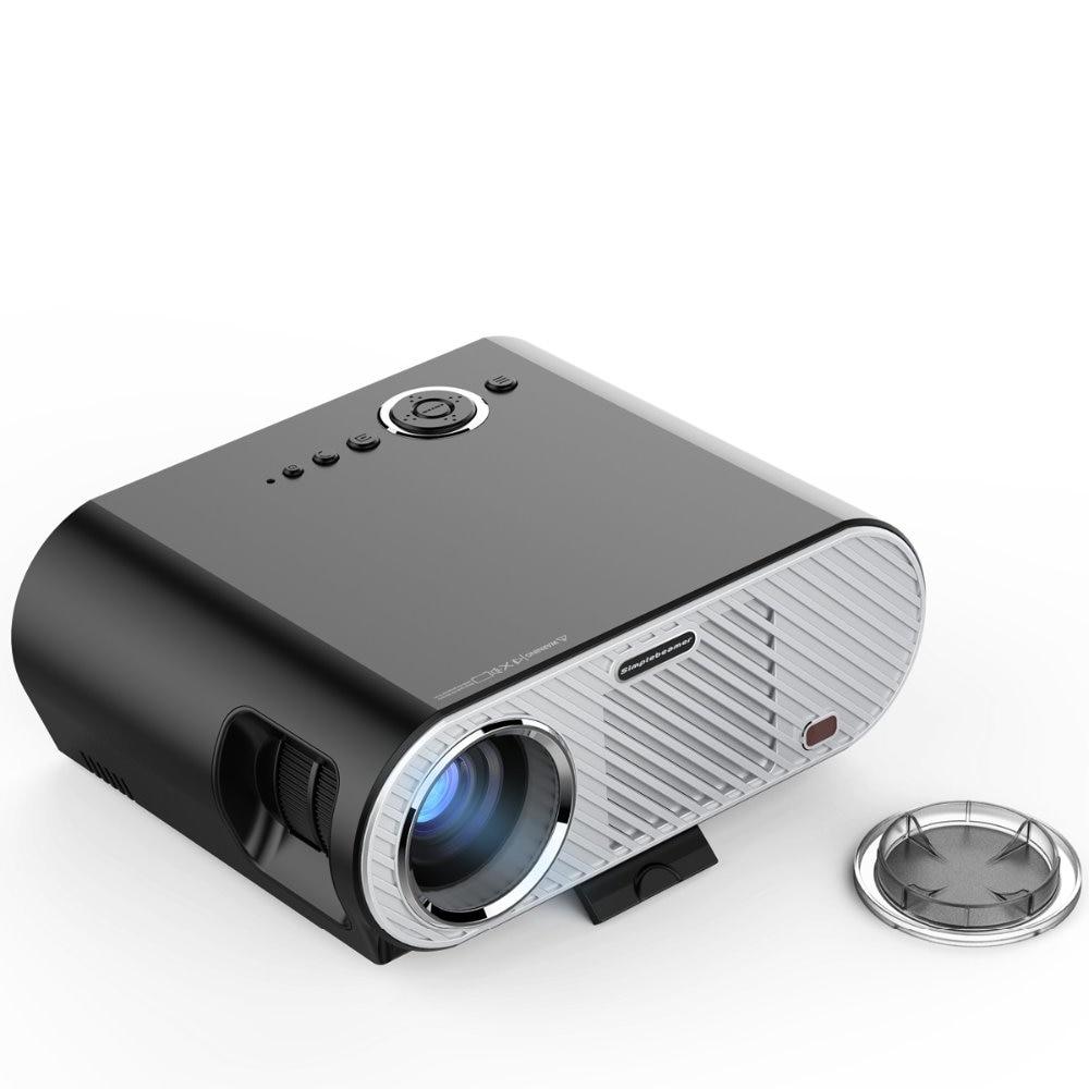 Led Projector 3500 Lumens Beamer 1280 800 Lcd Projector Tv: Original Vivibright GP90 Projector 3200 Lumens 1280*768