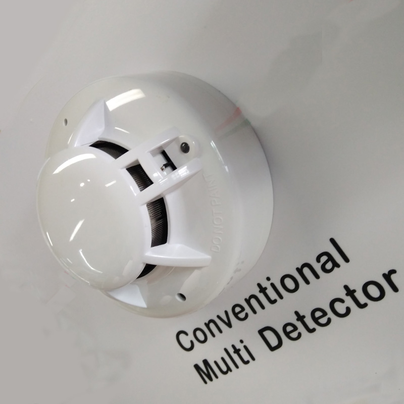 Milti Sensor Smoke Detector Heat Alarm Conventional Smoke And Heat Detector
