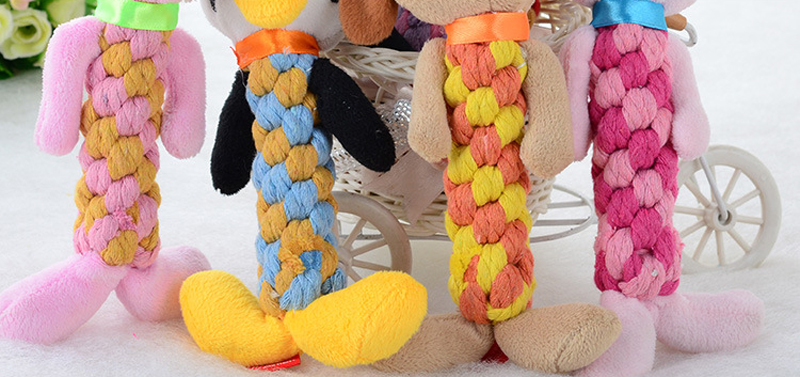 8 Styles Funny Pet Dog Toys Chew Squeaky Toys Cartoon Plush Sound Toy Animal Shape for Small Dogs Cats Product DOGGYZSTYLE
