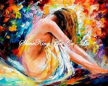 palette knife oil painting  modern oil painting canvas oil painting  K616